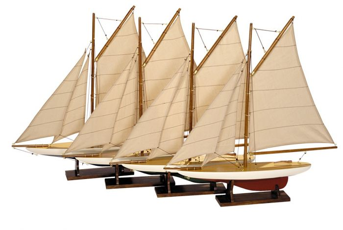 Authentic Models AS057a Pond Yacht Set