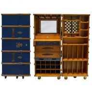 authentic models Barschrank blau