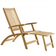 solpuri Windsor deck chair teak