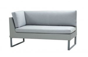 Cane-line Flex Sofa in hellgrau