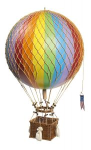 Authentic Models Ballonmodell in Regenbogenfarben