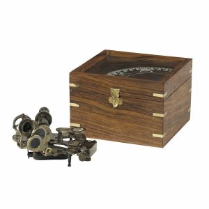 Authentic Models Sextant in Holzbox