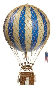 Authentic Models Royal Aero Heißluftballon Blau