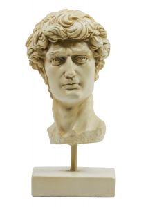 AR051 David Head Michelangelo Authentic Models