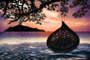 """unknown nordic """"Bios Lucid Hanging lounger"""" Hängesessel"""