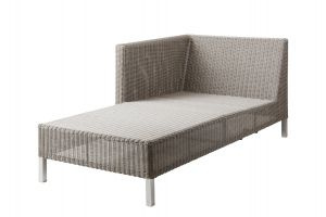 Cane-line Connect Chaiselongue, rechts Gartenlounge Loungegruppe
