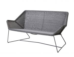 Cane-line Breeze Lounge Sofa in hellgrau