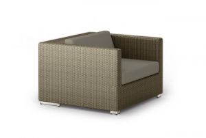Dedon Lounge Sessel in taupe