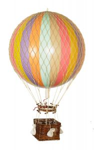 Authentic Models Ballonmodell in Regenbogenfarben Pastell